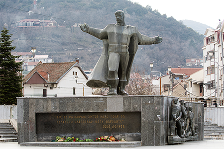 Monument Goce Delcev